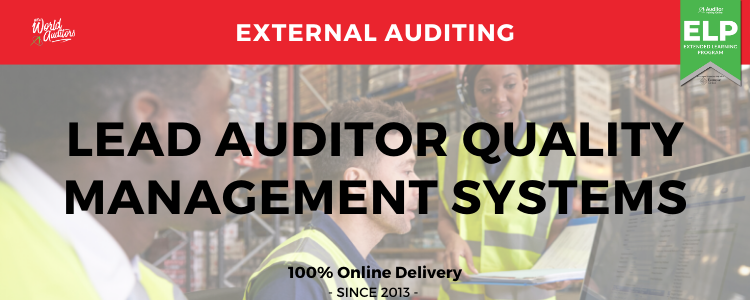 ISO 9001 Quality Management Systems Lead Auditor Course