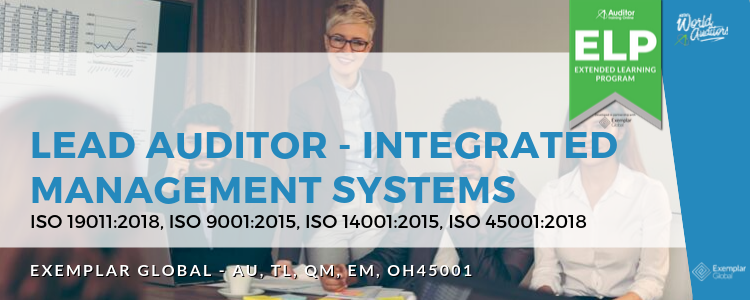External Auditing Integrated Management System Lead Auditor course