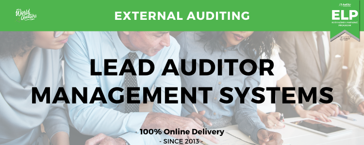 Auditor Training Online - Lead Auditor - Management Systems