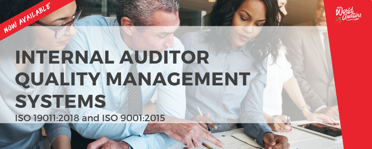 Internal Auditor Quality Management Systems
