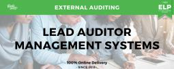 External Auditing Lead Auditor Management Systems