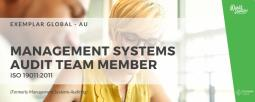 Management Systems Audit Team Member (ISO 19011:2011)